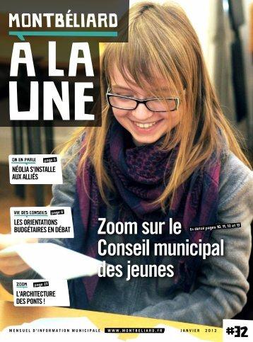 Zoom sur le Conseil municipal des jeunes - Montbéliard