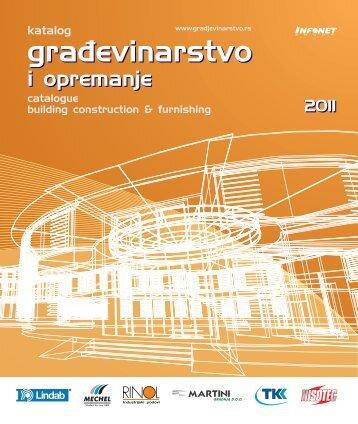 izbor iz kataloga Građevinarstvo 2011 *.pdf - Infonet Group