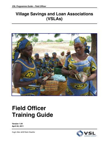 Field Officer Training Guide - FSN Network Portal