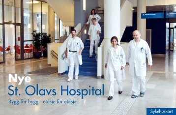 Kartbok St. Olav på Øya - St. Olavs Hospital