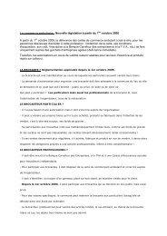 Le commerce ambulants : Nouvelle législation à partir ... - Florenville