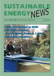 SEN 45 pdf - International Network for Sustainable Energy