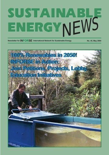 SEN 45 pdf - International Network for Sustainable Energy