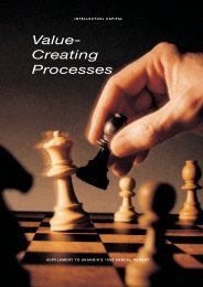 Value- Creating Processes - Excellence in Financial Management