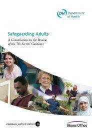 DH No Secrets consultation document - Action on Elder Abuse