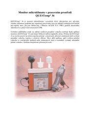 1/2005 Monitor mikroklimatu v pracovním prostředí - ECM ECO ...