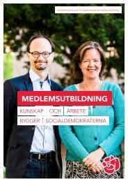 MEDLEMSUTBILDNING - Socialdemokraterna