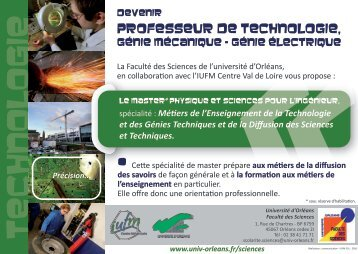 TECHNOLOGIE - IUFM