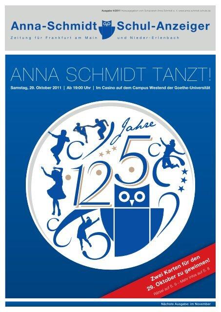 Schulanzeiger 1104 Anna Schmidt Schule