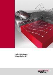 Produktinformation CANape Option GPS - Vector