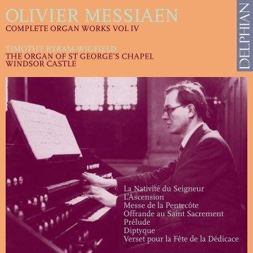 Olivier Messiaen - Chandos