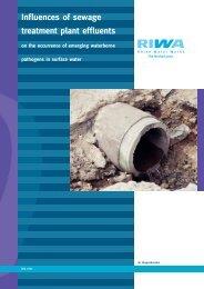 Influences of sewage treatment plant effluents - Riwa