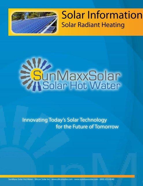 Solar Information - Solar Hot Water & Heating Manufacturer
