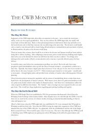May 25, 2012 Issue #104 - Back to the Futures