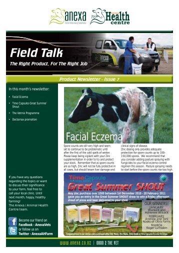 Field Talk Issue 7 - Anexa Animal Health