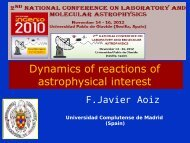 Dynamics of reactions of astrophysical interest