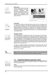 1.4. Zusätzliche Bildschirmelemente nutzen - Buchhandel.de
