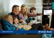 Making the most of your family budget (Northern Ireland) - Ulster Bank