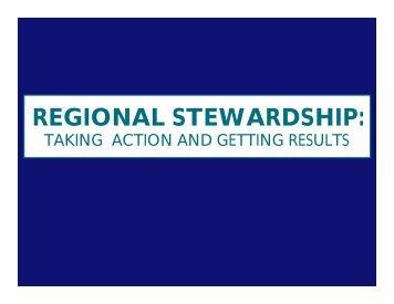 Regional Stewardship
