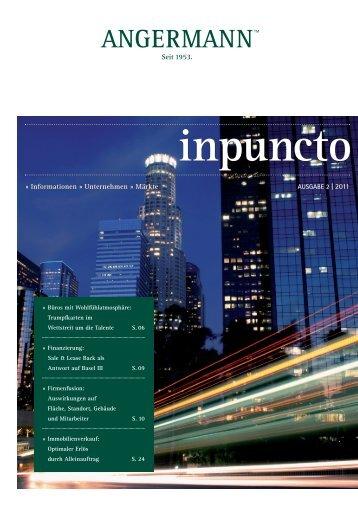 inpuncto 2 | 2011 als PDF - Angermann: inpuncto