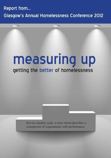 GHN Annual Conference Report 2012 - Glasgow Homelessness ...