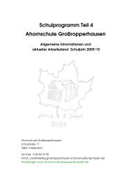 Aktuelles Schulprogramm 2. Hj 09_10 - Grundschule mit ...
