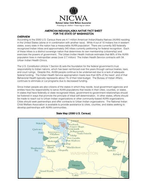 American indian/alaska native fact sheet - National Indian Child ...