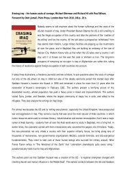 Erasing Iraq – the human costs of carnage, Michael ... - Ludwig Watzal