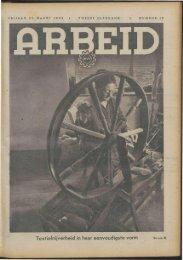 Arbeid (1942) nr. 12 - Vakbeweging in de oorlog