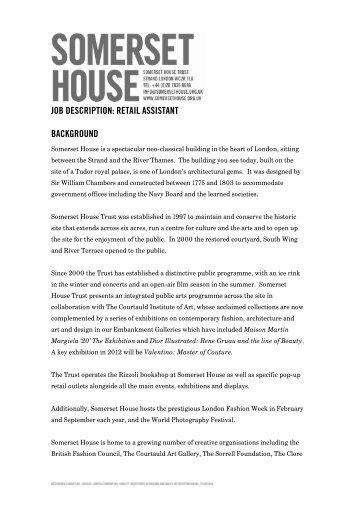 Retail Front of House Executive (Duty Manager) Job Description