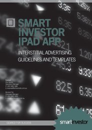 Interstitial advertising guidelines - Fairfax Media Adcentre