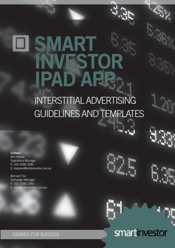 Interstitial advertising guidelines - Fairfax Media Adcentre