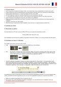 Bedienungsanleitung ACK-201, ACK-230, ACK-260 ... - Maxpoint - Page 7