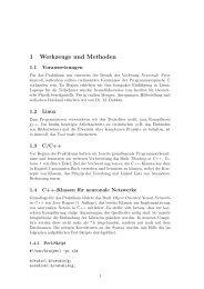 1 Werkzeuge und Methoden