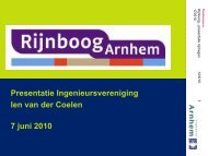 Concept Masterplan Rijnboog