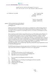 Advies - College bescherming persoonsgegevens