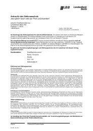 Antrag für den Zahlungsschutz Jetzt gleich faxen oder per ... - Airberlin
