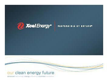 Oct 2009 - Xcel Energy Mix - Sierra Club Rocky Mountain Chapter