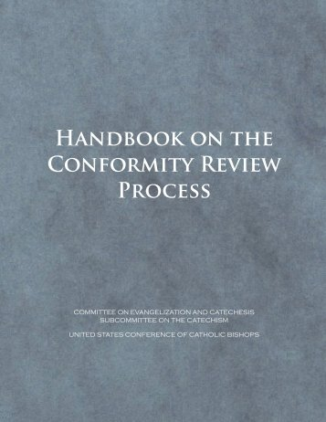 Handbook on the Conformity Review Process - United States ...