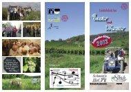Infos, Programm und Preise (Flyer) - Schmitt'n Hof Wohnau