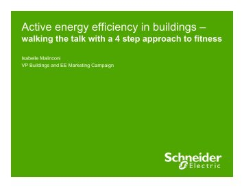 Active energy efficiency in buildings a 4 step ... - Schneider Electric