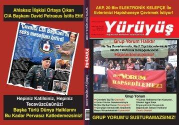 AKP, 20 BİN ELEKTRONİK KELEPÇE İLE - Yürüyüş