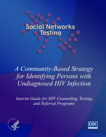 Social Networks Implementation Manual - Centers for Disease ...