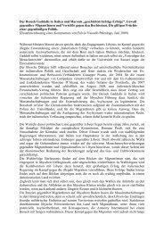 Der Besuch Gaddafis in Italien und Maronis - Borderline Europe