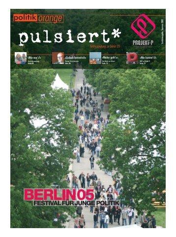 politik orange - Jugendpresse.de