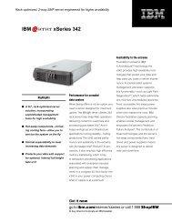 IBM xSeries 342