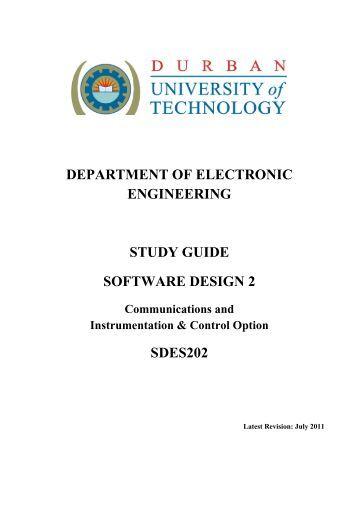 Software Design 2 - CS DUT