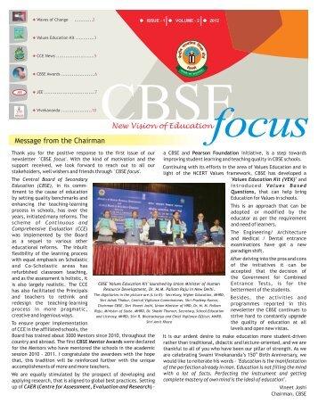 Newsletter Vol 2 - Final - CBSE