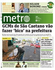 GCMs de São Caetano vão fazer 'bico' na prefeitura - Metro