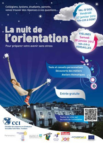 Téléchargez le flyer des Nuits de l'orientation 2012